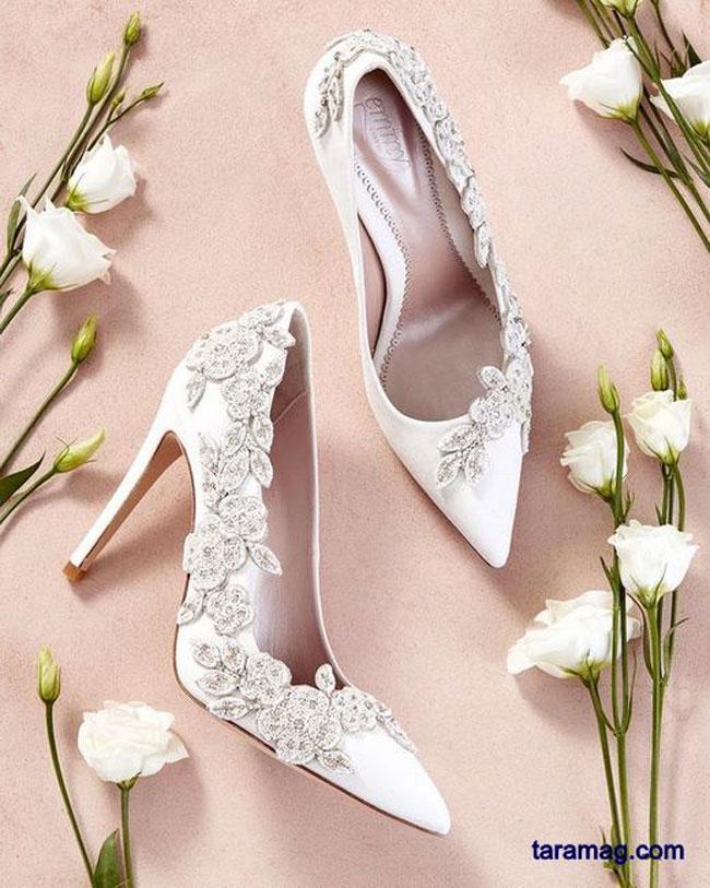 تصویر تصاویر زیبا از مدل کفش عروس شیک مد روز ویژه سال ۲۰۲۰ و ۹۹