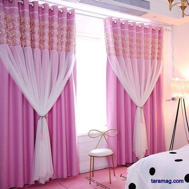 مدل پرده اتاق خواب فانتزی