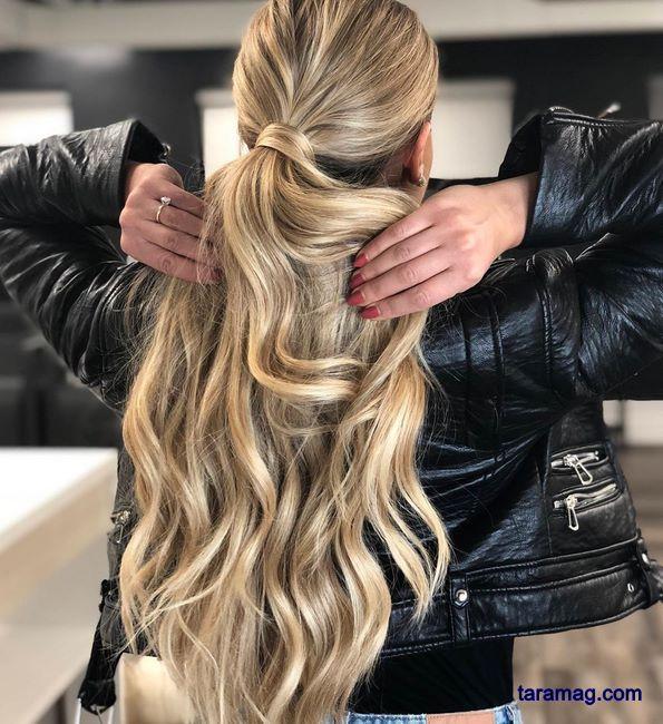 تصویر رنگ مو ۹۹ | زیباترین مدل هایلایت مو دخترانه جدید ۲۰۲۰ خاص