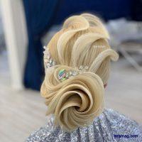 شینیون خطی حرارتی عروس ۲۰۲۰ | شینیون با استایل های بسیار زیبا و جدیدترین متدهای روز