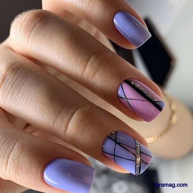 طراحی ناخن دخترانه