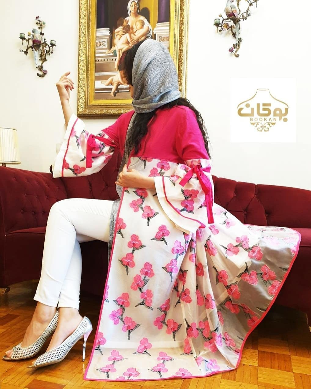 تصویر مدل مانتو دخترانه ۲۰۲۰ – ۹۹ | مانتو مجلسی بسیار شیک برای مهمانیها و مراسم