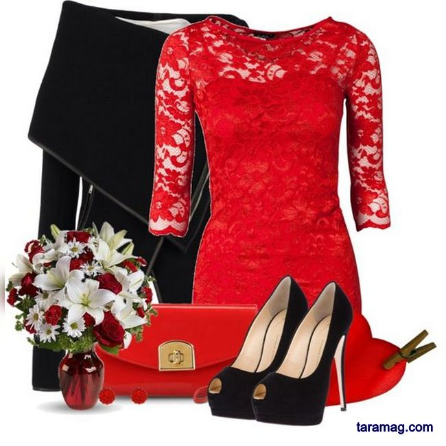 تصویر ست های زیبا مجلسی زنانه و دخترانه با رنگبندی های بسیار متفاوت و خاص