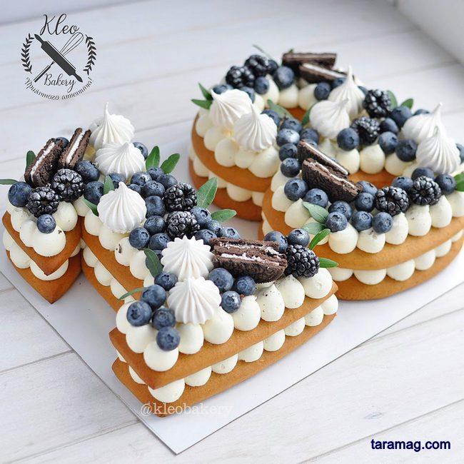 انواع کیک تولد سابله جدید و زیبا