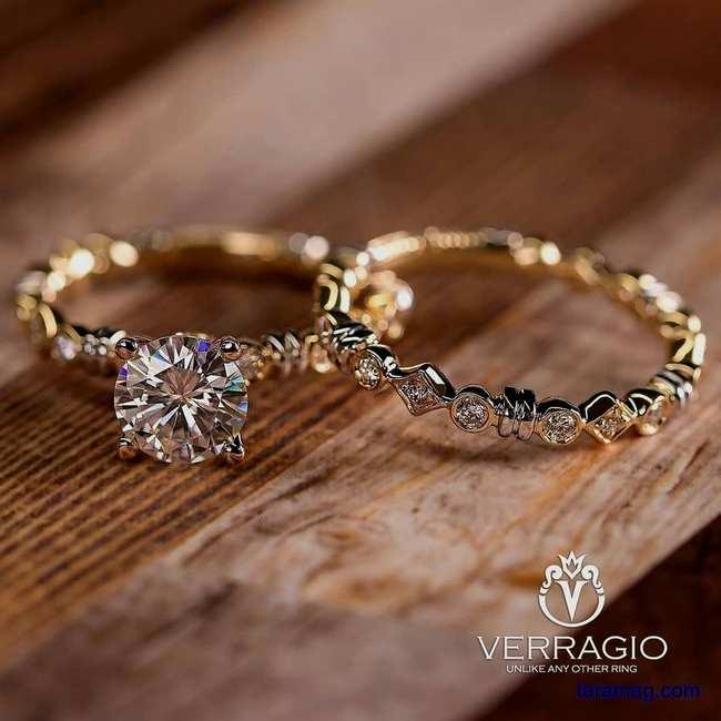 تصویر مدل حلقه نامزدی جدید ۲۰۲۰ | تصاویر حلقه ازدواج طلا ساده بدون نگین کاری