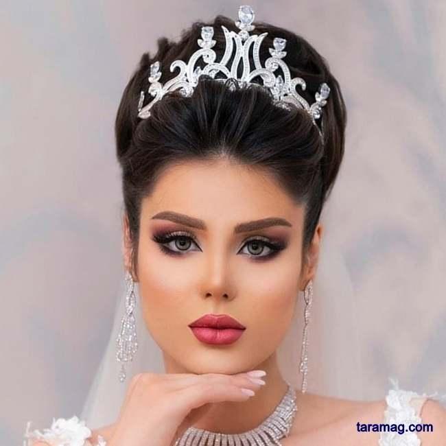 تصویر مدل آرایش عروس ۲۰۲۰ | جدیدترین مدل های آرایش زنانه ۲۰۲۰