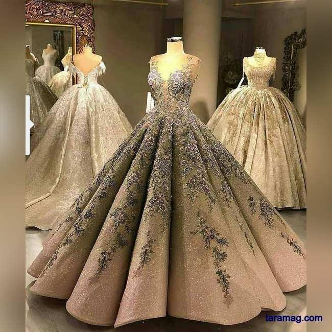 تصویر لباس عروس و نامزدی ۲۰۲۰ – ۹۹ |  لباس عروس جدید برای سورپرایز عروسهای لاکچری