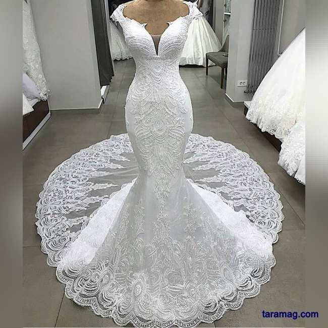 لباس عروس گیپور 2020 - 99