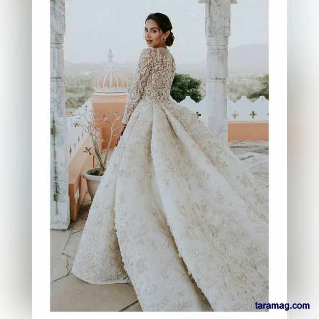 لباس عروس پفی 2020 - 99