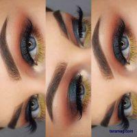 میکاپ چشم جدید ۲۰۲۰ | تصاویر انواع مدل آرایش چشم مجلسی جذاب