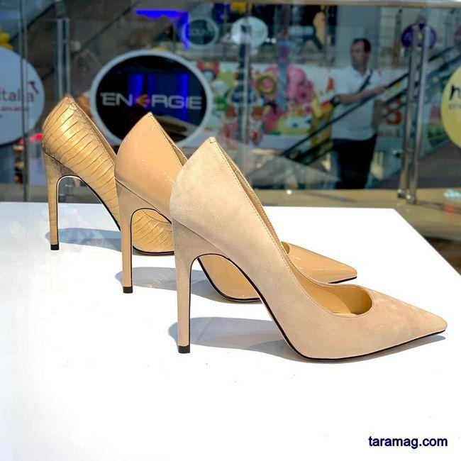 مدل کفش پاشنه دار مجلسی 2021