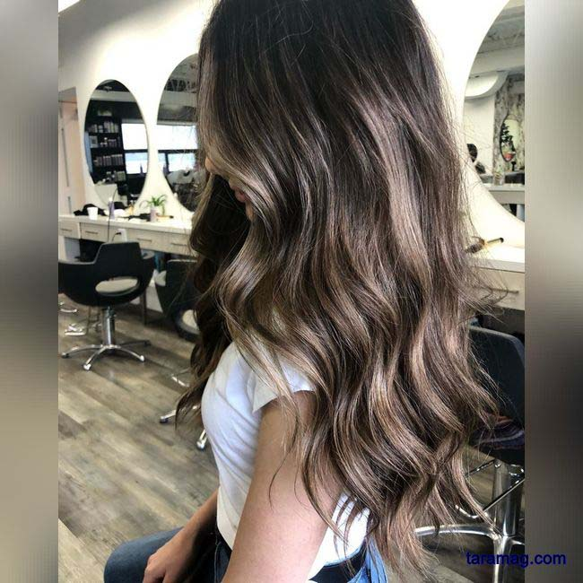 مدل رنگ موی جدید 1400 | رنگ موی جدید و زیبای زنانه ترکیبی