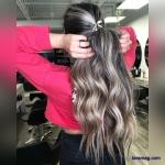 مدل هایلایت مو 2021 | جدیدترین رنگ مو جدید سال 1400