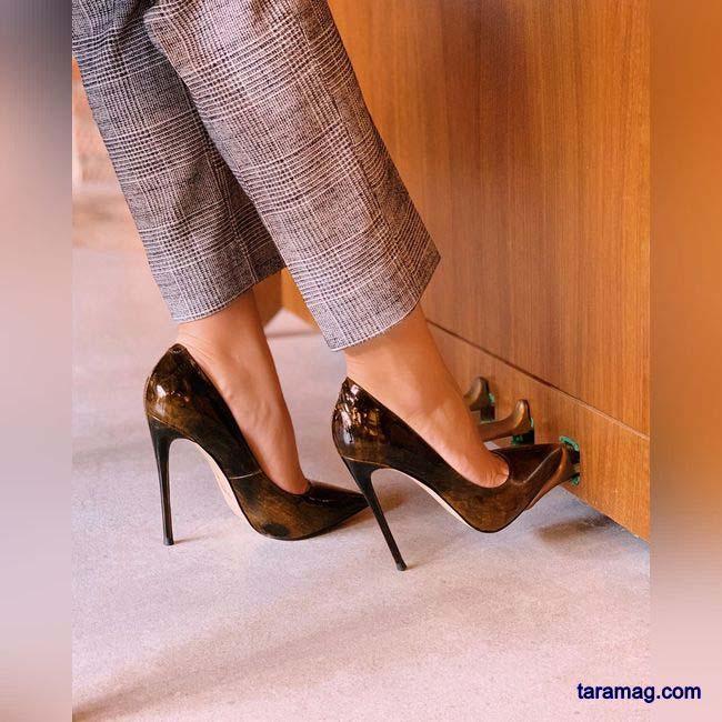 مدل کفش پاشنه دار جدید 2021