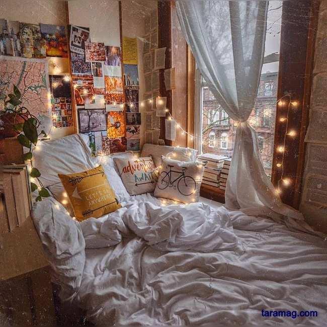 تصویر دکوراسیون اتاق خواب شیک ۲۰۲۱   ایده های جذاب دکوراسیون اتاق خواب ساده و شیک