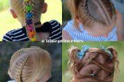 بافت مو بچگانه جدید با طرح های خاص مخصوص نوروز ۱۴۰۰