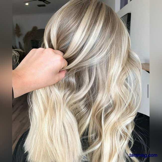 عکس از مدل رنگ مو جدید ویژه نوروز سال 1400