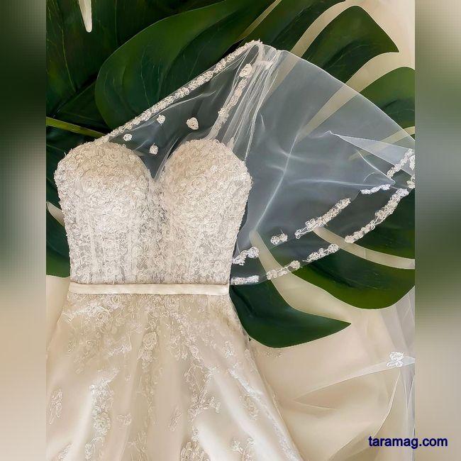 تصویر جدیدترین مدل لباس عروس جدید ۲۰۲۱ را در اینجا ببیند!