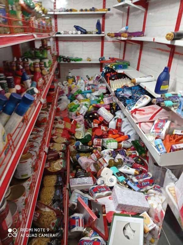 تصاویر زلزله سی سخت کهگیلویه