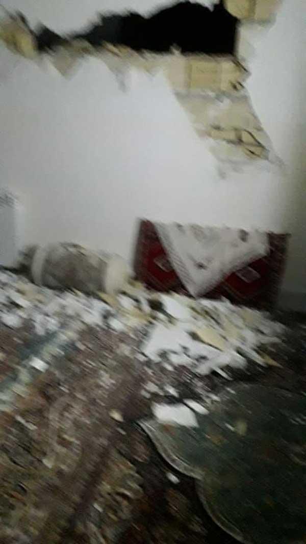 تصاویر زلزله سی سخت