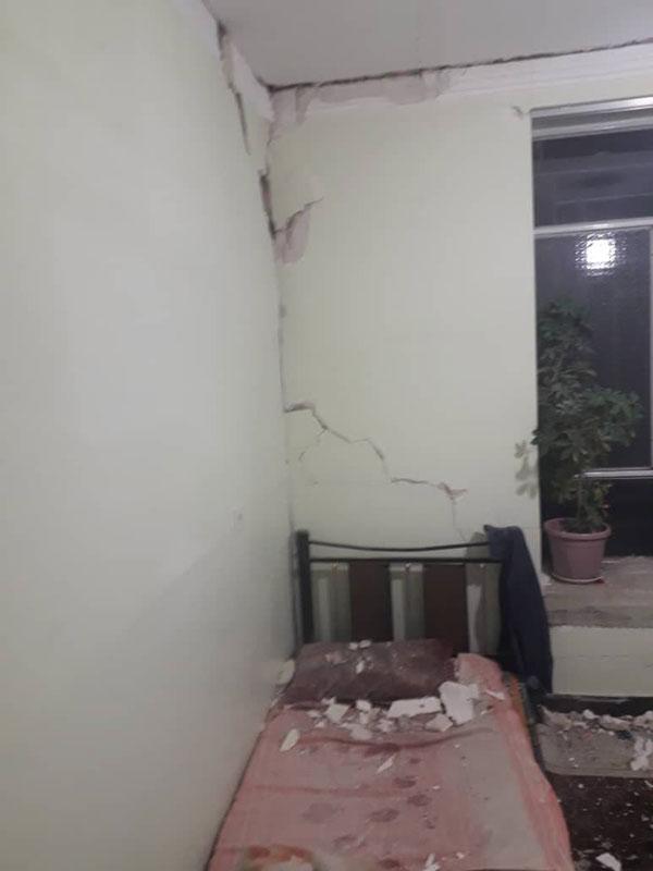 شدت و خسارات زلزله سی سخت