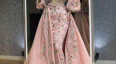 جدیدترین مدل لباس مجلسی گیپور 2021 مخصوص خانم های باکلاس لاکچری پوش